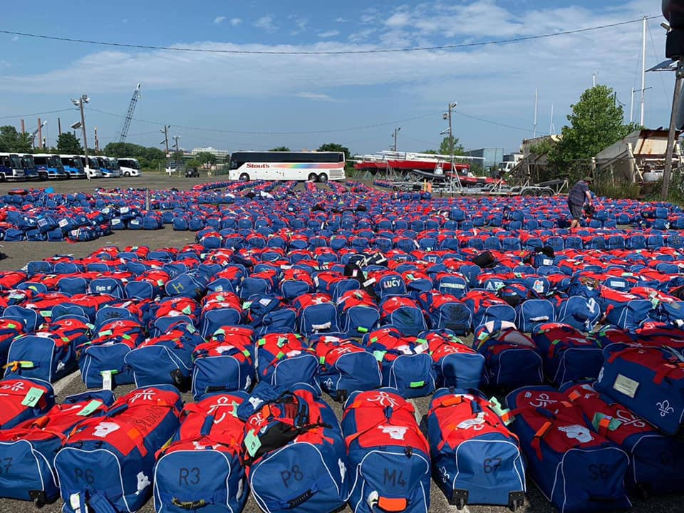 USA Jamboree UK Contingent Bags have arrived